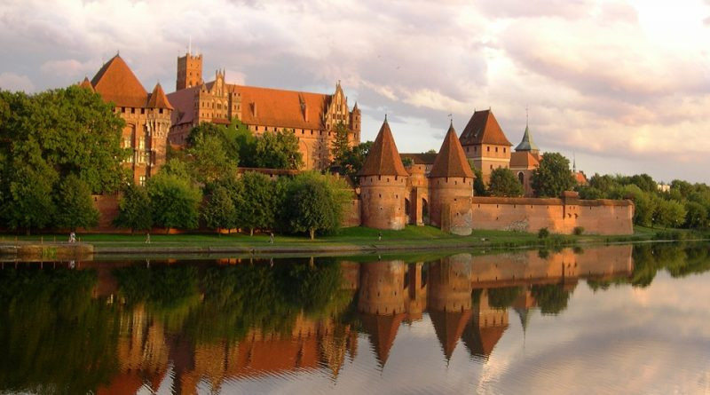 Hrad Malbork: nejrozsáhlejší gotická pevnost v Evropě